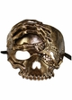 Pirate Skull with Eyepatch and Key Mask inset 1