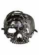 Pirate Skull with Eyepatch and Key Mask inset 2