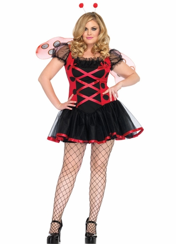 Plus Size Lovely Ladybug Halloween Costume
