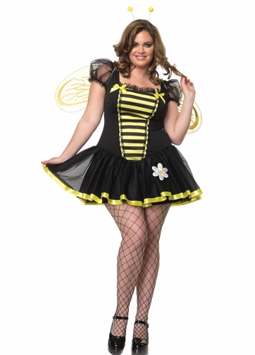 Plus Size Daisy Bee Halloween Costume