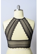 Plus Size Lace Bralette with Triangle Back inset 4