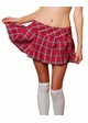 Plus Size Plaid Schoolgirl Mini Skirt Now in 5 Colors inset 1