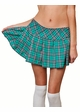 Plus Size Plaid Schoolgirl Mini Skirt Now in 5 Colors inset 2