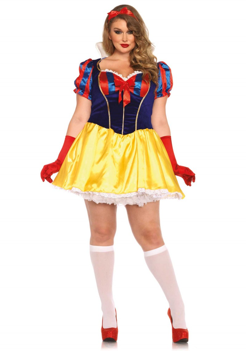 plus size poison apple snow white halloween costume