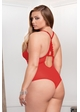 Plus Size Sasha Lace and Mesh Bodysuit inset 4