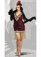 Plus Size Sophisticated Lady Flapper Halloween Costume inset 2
