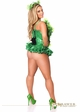 Poison Ivy Green Sequin Corset Halloween Costume inset 1
