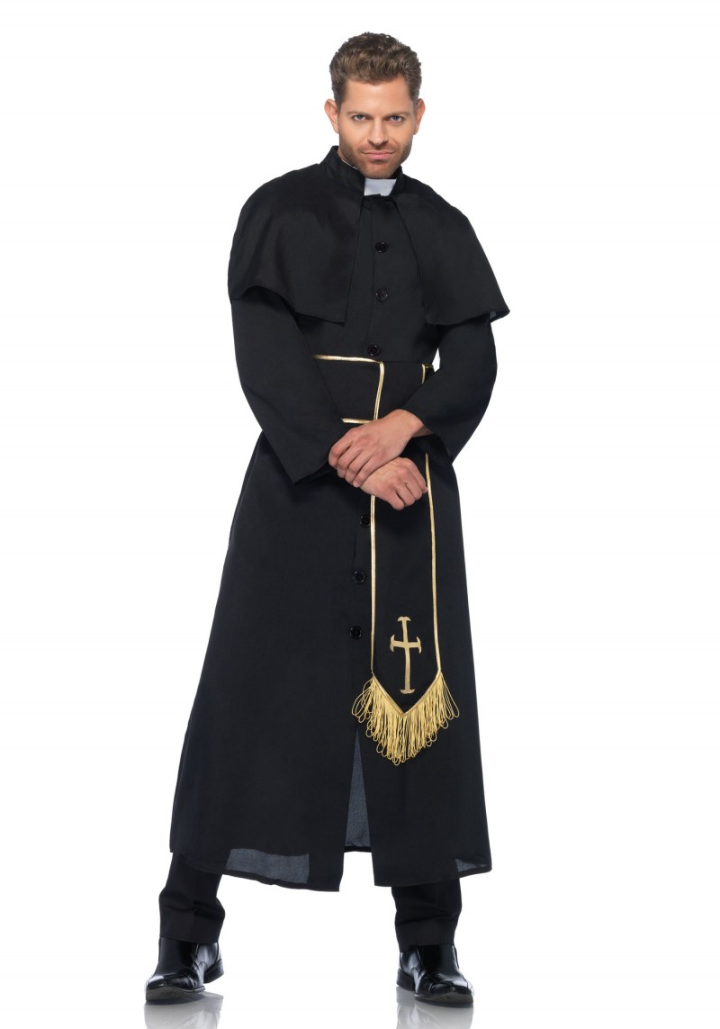 priest halloween costume for men