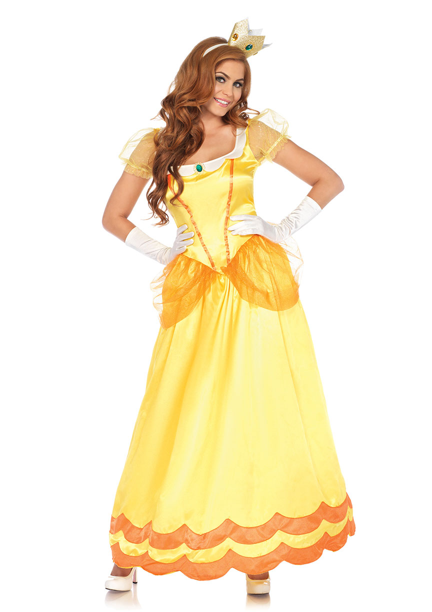 Princess Daisy Halloween Costume