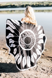 Printed Beach Towel Blankets