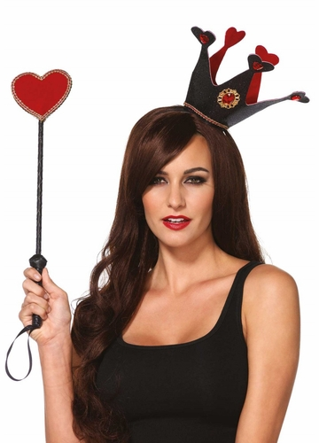 Queen of Hearts Crown and Scepter