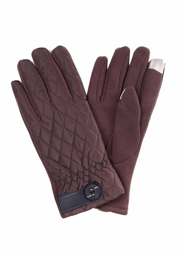 Quilted Winter Gloves with Smart Tips