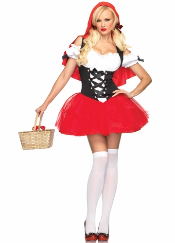 Racy Red Riding Hood Halloween Costume