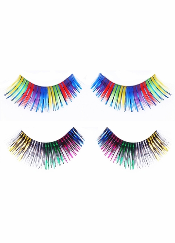 Rainbow Metallic Lashes