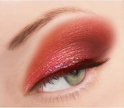 Red Glitter Powder for Eyeliner and Eye Makeup