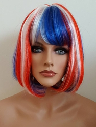 Red White and Blue United Cindy Wig