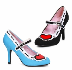 Retro and High Heel Shoes