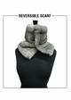 Reversible Knit and Faux Fur Neck Warmer inset 4