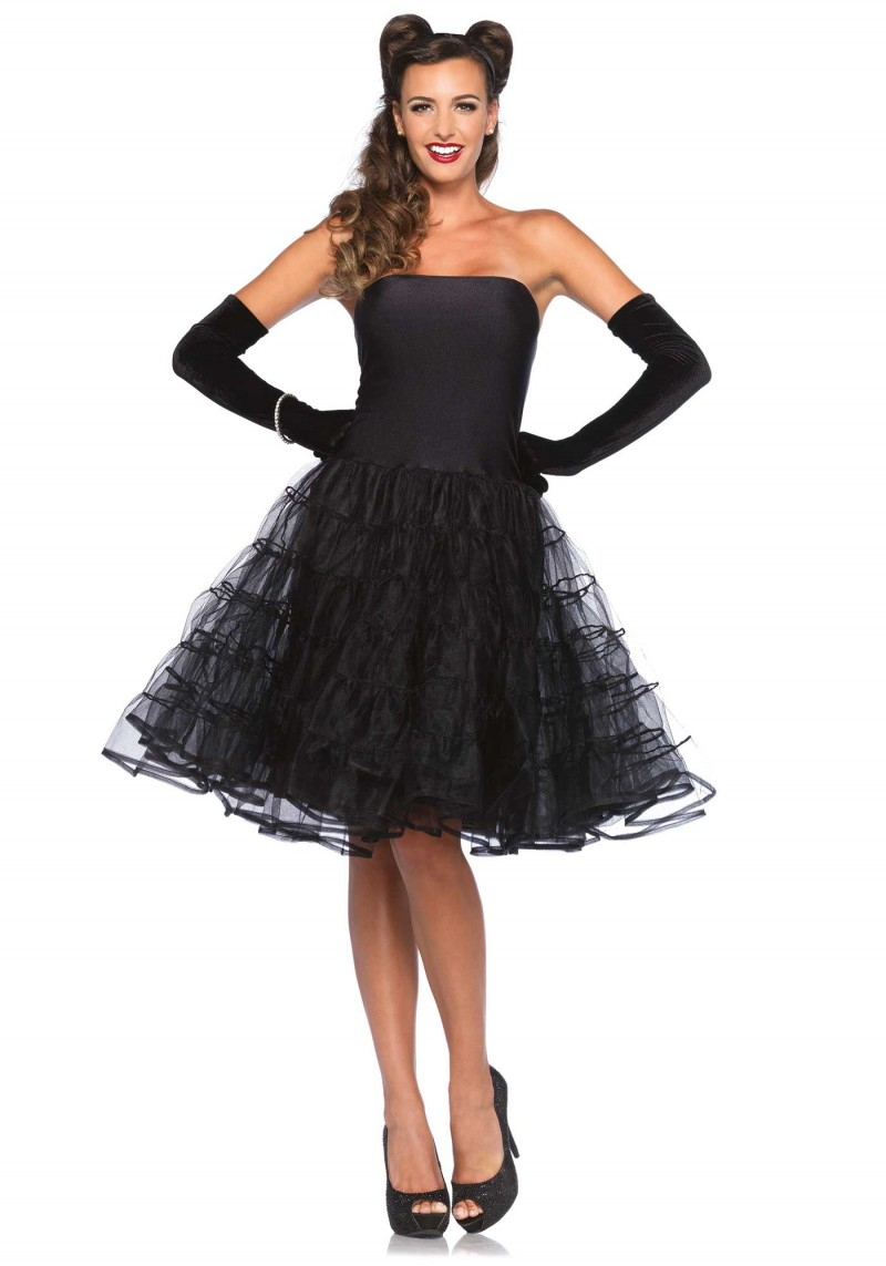 Rockabilly Petticoat Dress
