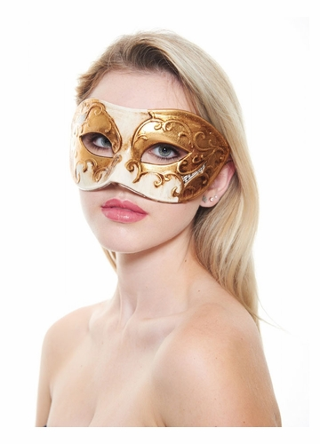Romance at the Opera Masquerade Mask in 6 Colors