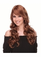 Romantic Curly Wig with Side Swept Bangs Broadway inset 1