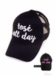 Rose' All Day Color Changing CC Ponytail Hat inset 3