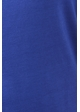 Royal Blue Plus Size Short Sleeve Top with Side Ruching inset 4