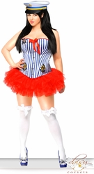 Sailor Corset and Petticoat Costume