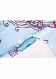 Sea World Ptint Beach Blanket Towel by Zohra inset 3
