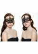 Serena Masquerade Mask with Colorful Gems inset 4