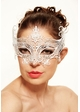 Serena Masquerade Mask with Crystals inset 1