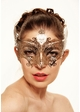 Serena Masquerade Mask with Crystals inset 2