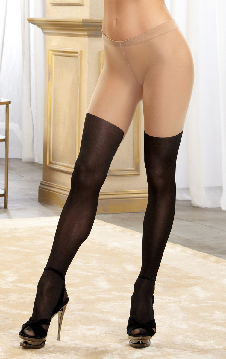 Good message Black pantyhose and black boots matchless