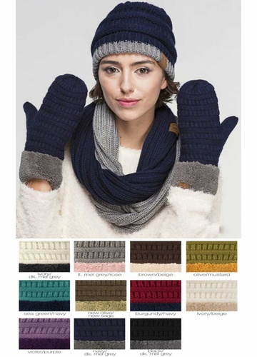Sherpa Lined CC Mitten Gloves