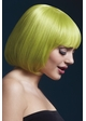 Short Bob Wig Mia with Fringe in Green inset 1