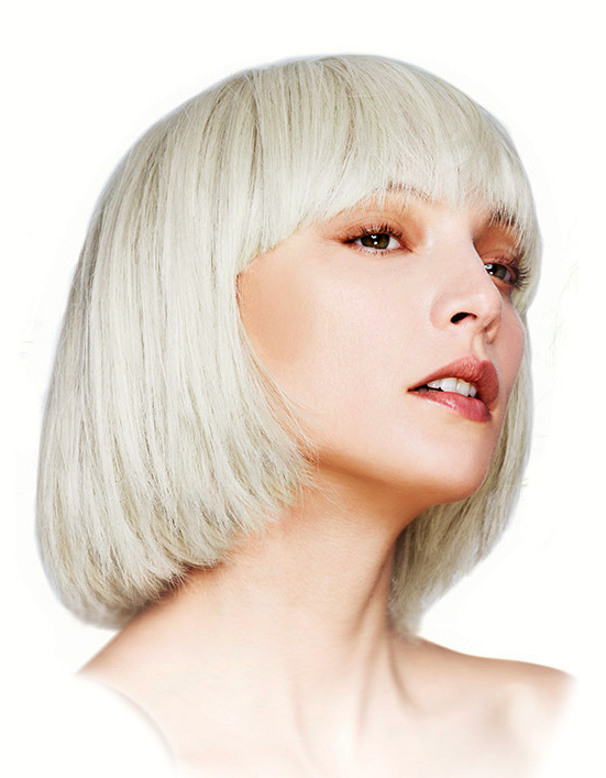 Short Bob Wig with Fringe Mia in Blonde f056f92abb9c