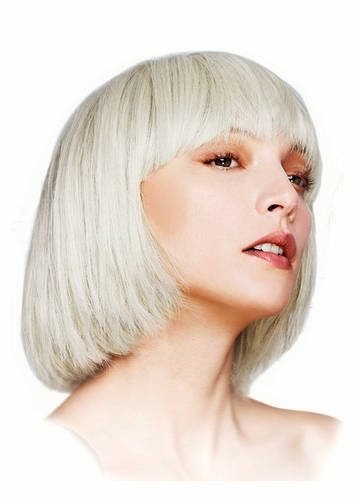 Short Bob Wig with Fringe Mia in Blonde