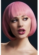 Short Bob with Fringe Wig Mia in Pastel Pink inset 1