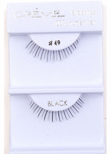 Shorter Length Natural Wispy Lashes