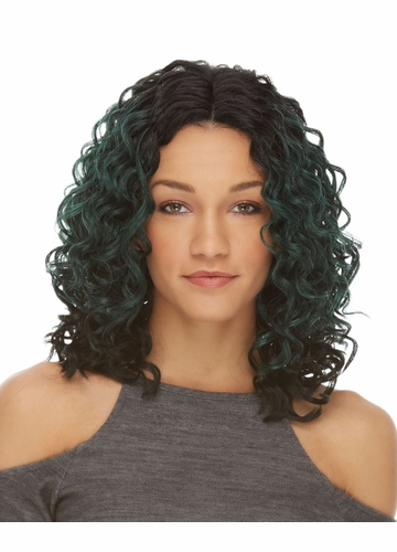 Shoulder Length Curly Lace Front Wig Cairo