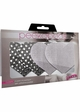 Silver Heart Self Adhesive Pasties inset 1