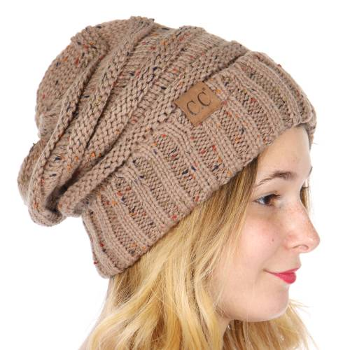 a269228255591 ... Slouchy Confetti Knit Beanie Hat from CC Brand inset 3 ...