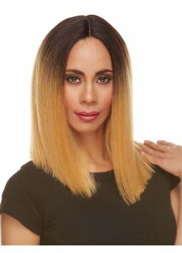 Smooth Shoulder Length Lace Front Wig Rowan