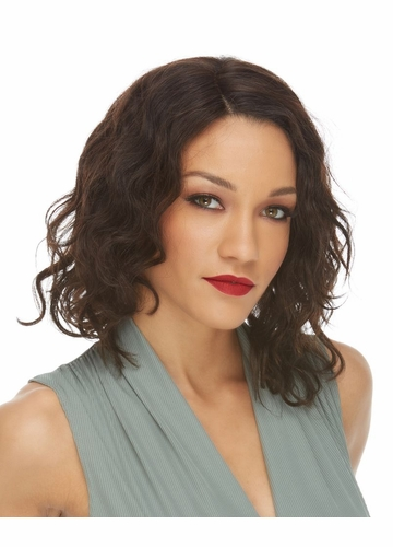 Soft Curl Lace Front Human Hair Wig Kyla