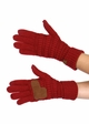 Solid Color Groove Knit CC Gloves inset 2
