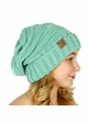 Solid Color Slouchy CC Beanie Hat inset 4