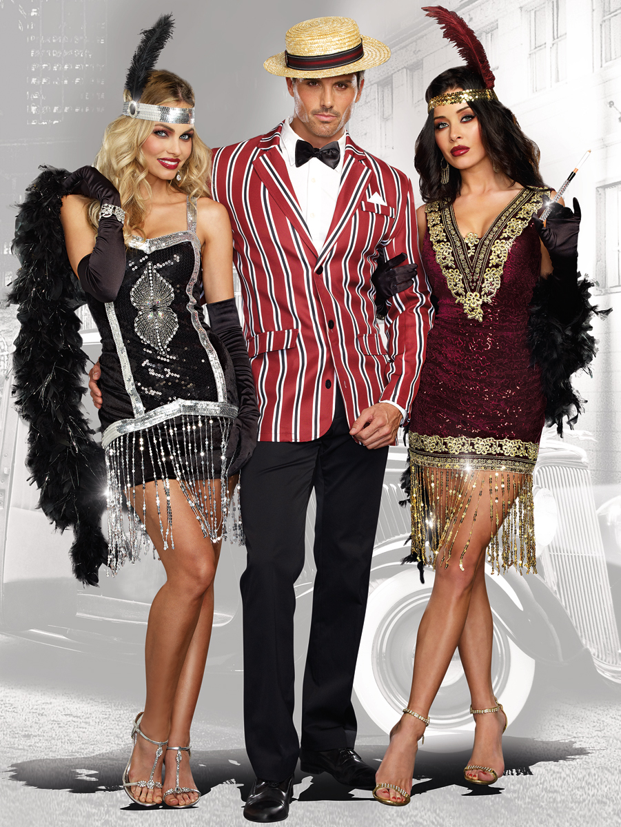 sophisticated lady flapper halloween costume inset 1