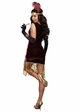 Sophisticated Lady Flapper Halloween Costume inset 2