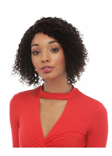 Spiral Curl Lace Front Human Hair Wig Cybil