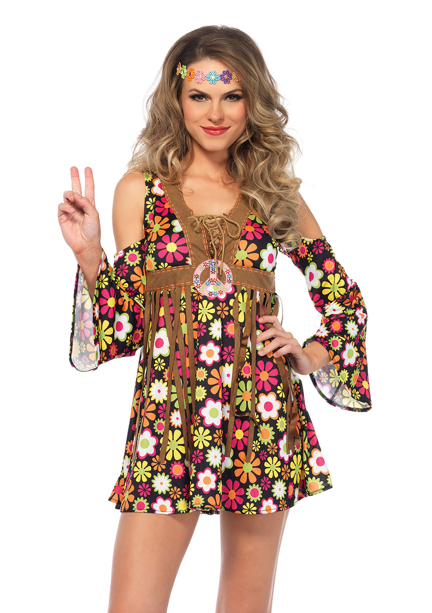 starflower hippie gogo girl halloween costume